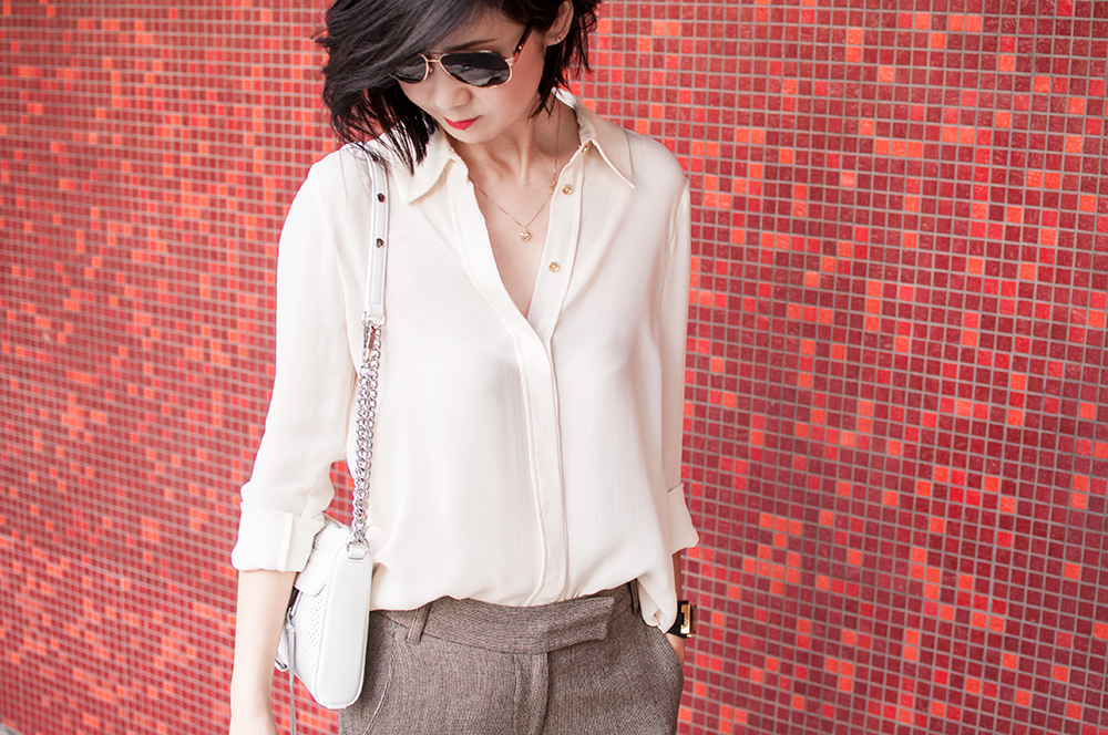 Feminine in Cream Color