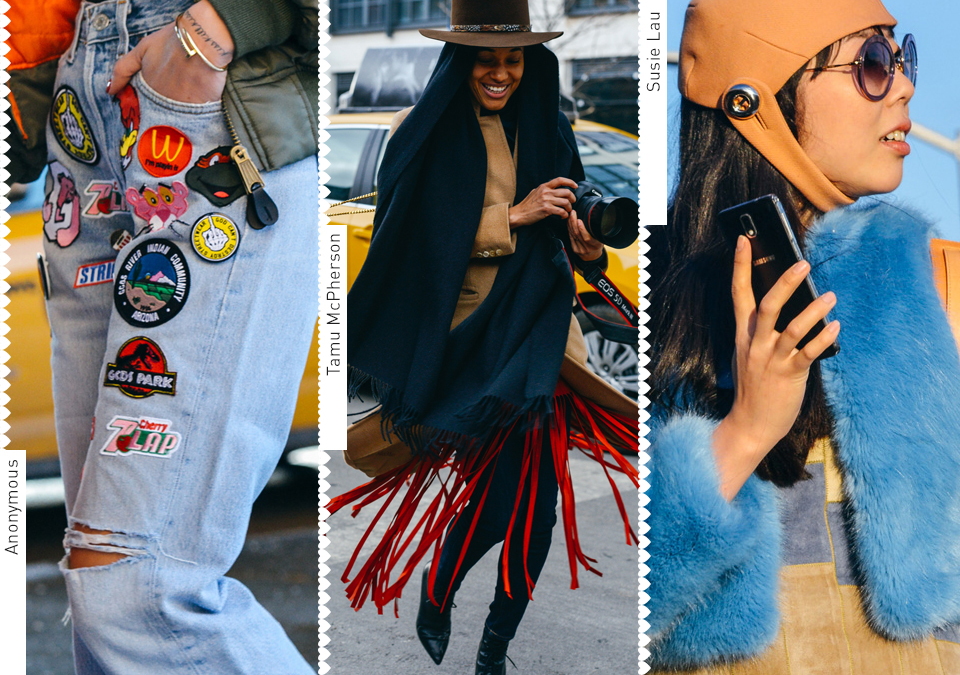 Inspirations from Fashion Week Street Styles