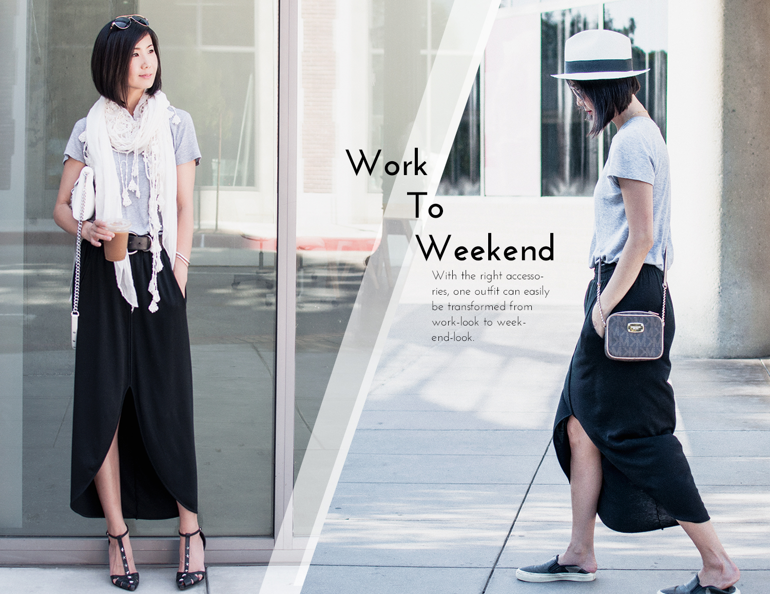 From Work Outfit to Weekend Outfit
