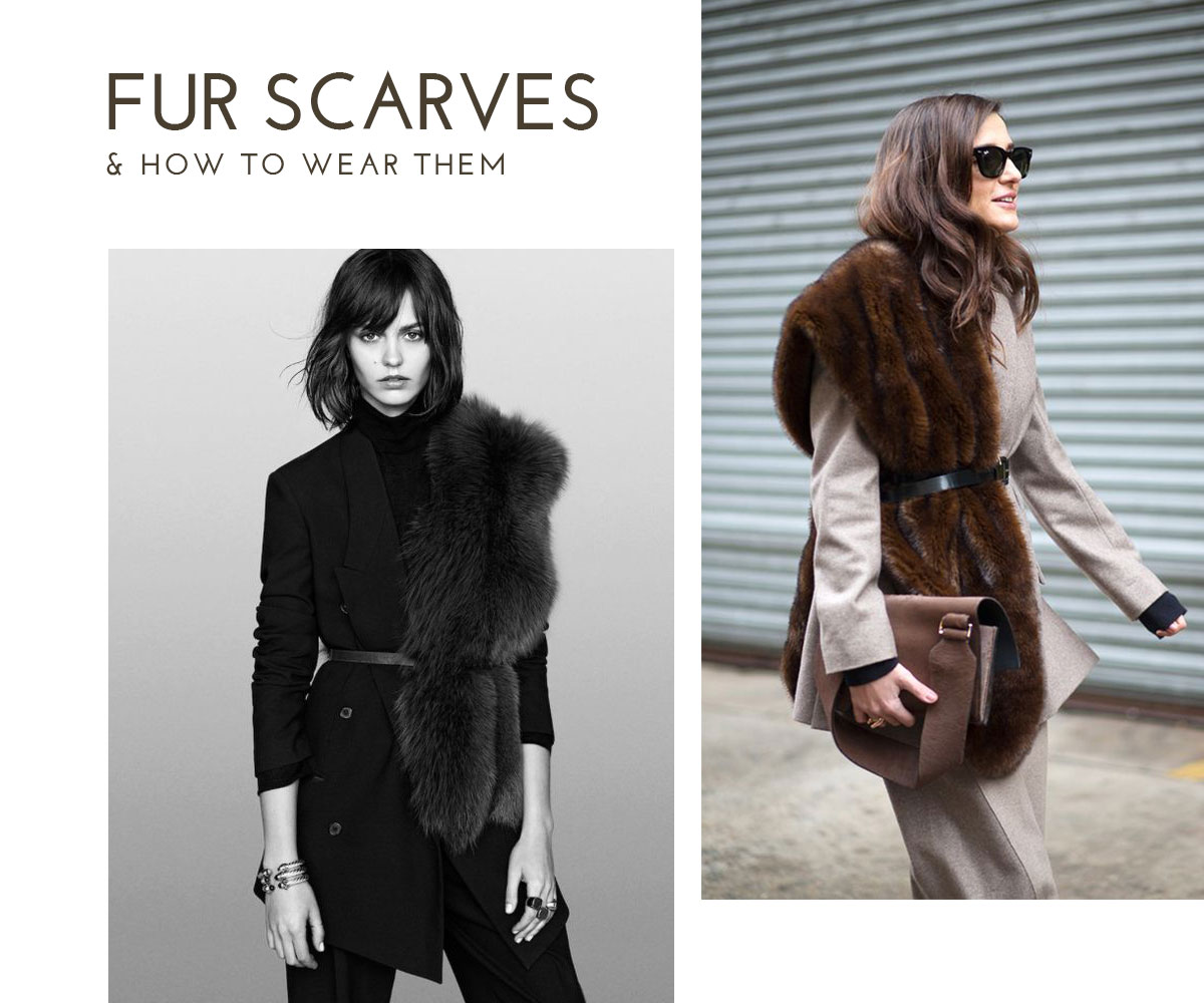 The Fur Scarves