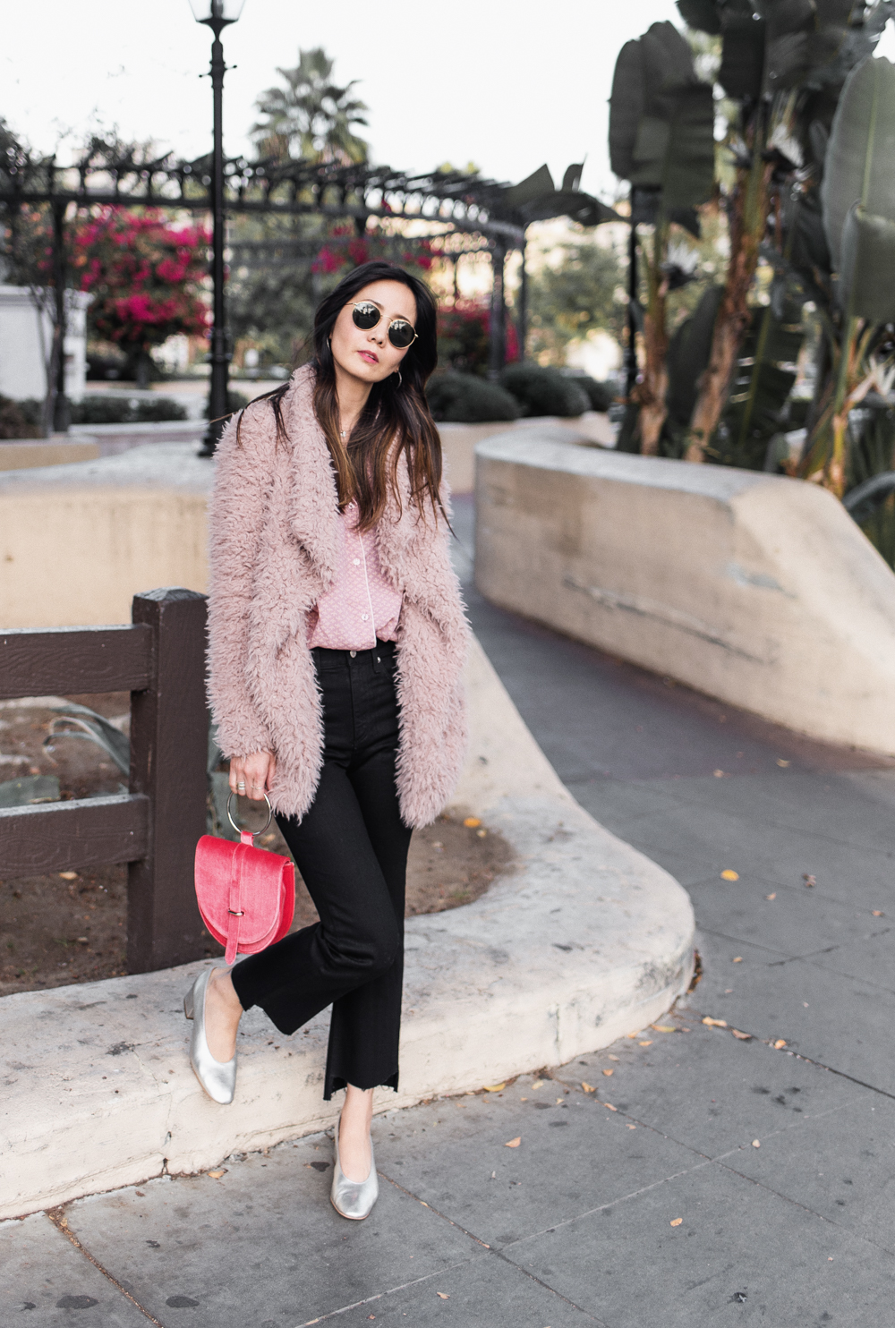 Fuzzy Sweater Coat